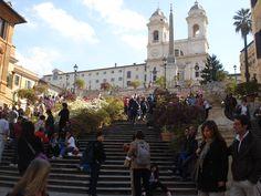 Piazza di Spagna #Rome #Italy