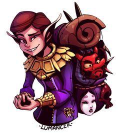 "zackargunov: ""Lumancer Commission [Legend of Zelda] "" Link Fan Art, Dnd Characters, Fictional Characters, Legend Of Zelda Breath, Art Memes, Illustration, Creepy, Video Games, Nintendo"