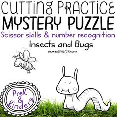 In these no-prep printables, you get 8 unique bug/insect puzzles.  The puzzles include: a bee, butterfly, caterpillar, dragonfly, ladybug, snail, spider, and a worm.There are two versions: Version 1: 2x2 (4 piece) puzzle  ideal for preschool  Version 2: 3x3 (9 piece) puzzle  ideal for end of year preschool or kindergarten What makes it extra special? -The two versions allow for differentiation with your groups. -I designed them with the intention of the students being able to work…