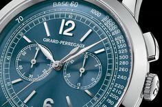 Girard-Perregaux 1966 Blue Dial Chronograph 49539-53-451-BK6B.