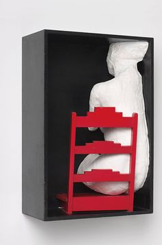 George Segal Girl on a Chair, 1970 James Rosenquist, George Segal, Claes Oldenburg, Robert Rauschenberg, Jasper Johns, Jeff Koons, Roy Lichtenstein, David Hockney, Andy Warhol