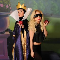 Shut. Up. Lady Gaga with the Evil Queen