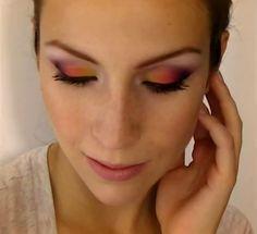 Sunset make-up (by Cynthia Dulude)