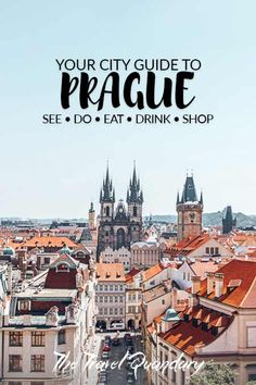 View over Prague from Klementinum Astronomical Tower, Prague - See Pic Prague Travel Guide, Europe Travel Guide, Spain Travel, Travel Guides, Budget Travel, Backpacking Europe, Europe Packing, Packing Lists, Cheap Travel