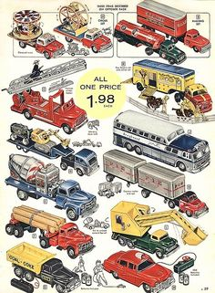 MATCHBOX CARS FROM THE LATE 50'S