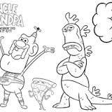 Image result for desenhos para colorir do titio avo