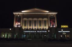 Tammerkosken partaalle vuonna 1913 valmistunut Tampereen Teatteri on yksi Suomen vanhimmista taidelaitoksista. Photography © Joonas Mäkkylä. #Veriveljet #Tampere #Teatteri