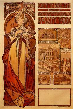 Art Nouveau Alphonse Mucha | april 22, 2007