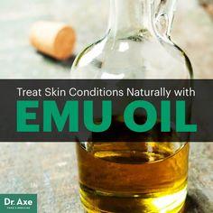 Emu oil - Dr. Axe http://www.draxe.com #health #holistic #natural
