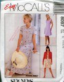 Easy McCall's Pattern 8097 ~ Misses' Lined or Unlined Jacket  Dress in Two Lengths ~ Sizes 10,12,14 - http://sewingpins.net/sewing/sewing-patterns/easy-mccalls-pattern-8097-misses-lined-or-unlined-jacket-dress-in-two-lengths-sizes-101214/