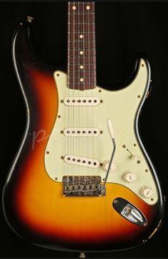 Fender Custom Order 'Tone Machine' 62 Relic Strat Sunburst