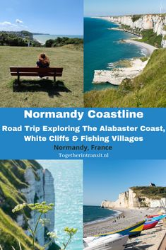 Enjoy a weekend away by exploring the Normandy France Coastline. Visit the Alabaster Coast, fishing ports and the white cliffs for a beautiful road trip!   #Normandy #travel #roadtrip #alabastercoast #whitecliffs #yport #dieppe #etretat #France  Normandy | France Road Trip | Alabaster Coast | Normandie | Normandy France | France Vacation | Northern France | Dieppe | Yport France | White Cliffs | Etretat | Vacation France European Travel Tips, Europe Travel Guide, France Travel, Travel Guides, Travel Destinations, Beautiful Roads, Normandy France, Visit France, Fishing Villages