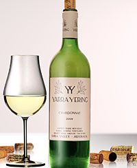 Yarra Yering Chardonnay. Can you combine this with asparagus? Frankly, I don't care because it's so good!
