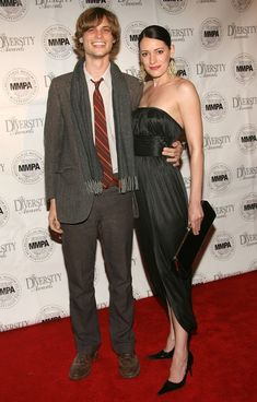 Paget Brewster Matthew Gray Gubler 14th Annual Diversity Awards Gala - Arrivals. Source: Getty Images. 14th Annual Diversity Awards Gala - Arrivals