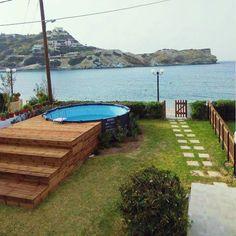 This is magic ! Creta Greece, Vacations, June, Villa, Magic, Outdoor Decor, Travel, Home Decor, Holidays
