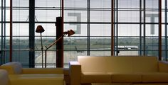 Enjoy the views from the Sala VIP - Salon Ifach Lounge at Spain Alicante Airport