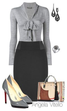 Untitled #670 by angela-vitello on Polyvore featuring polyvore, fashion, style, Alexander McQueen, maurices, Christian Louboutin, River Island, Emilio! and clothing