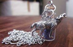 TEEN WOLF. Wolfsbane necklace.