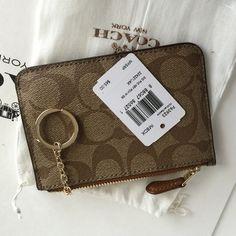 Coach Key pouch Authentic Coach Key Pouch❤️ Coach Accessories Key & Card Holders