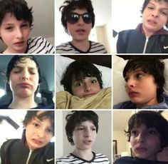 Finn Wolfhard and his facial expressions!!
