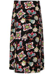 VALENTINO Popflowers print skirt. #valentino #cloth #