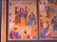 Pr. Arsenie Boca - pictura bisericii de la Draganescu