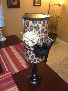 Leopard headband holder with storage by EmmasCraftyBoutique, $21.00