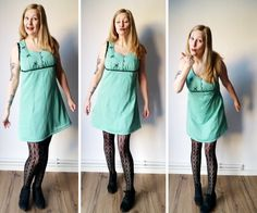 I finally got around to refashioning my diy costume, 'tis now a wearable addition to my vintage collection! Check out my refashioned refashionista costume
