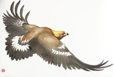 Golden Eagle by Karl Martens (£7,500) | Gladwell & Patterson