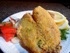 Healthy fried fish