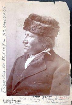 MATO WATAKPE aka JOHN GRASS , circa 1888