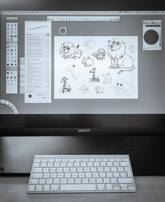 Autodesk Sketchbook Pro in action