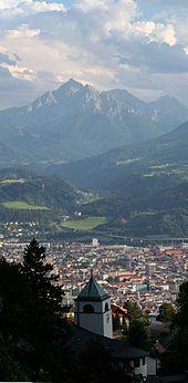 """Innsbruck - where Mandy, Ryan & Lauren """"taught"""" me to ski.   lol"""