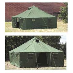 16' x 16' New Military Tent