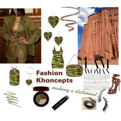 Fashion Khoncepts - Green and Brown