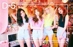 YG Entertainments upcoming k pop girl group Black Pink has revealed group photo teasers as part of promotions. Black Pink is an upcoming girl group which features 4 members, Jennie, Lisa, JiSoo, and Rose. Stay tuned for more updates on Black Pink. Yg Entertainment, Forever Young, Kpop Girl Groups, Kpop Girls, K Pop, Jenny Kim, Blackpink Debut, Oppa Gangnam Style, Blackpink Members