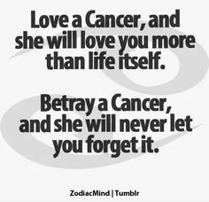 I give warnings about what happens if people I love hurt me, they just never listen... not my problem! #Cancer #Cancerian #Moochild