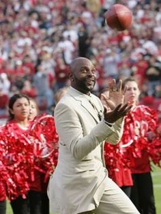Jerry Rice Retires from football but not until he makes one last catch!