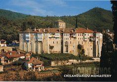 HILANDAR -Serbian monastery, Mount Athos