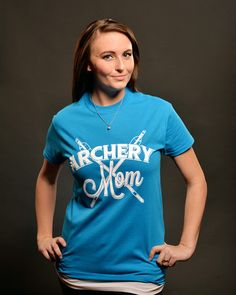 Archery Mom T-Shirt is sure to be your favorite Archery shirt! Available only at ArcherySquad.com for $14.99.