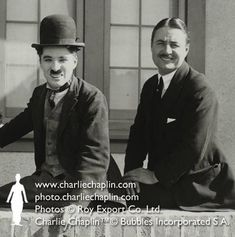 Charlie & Sydney Chaplin