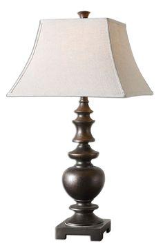 Uttermost Verrone Bronze Table Lamp