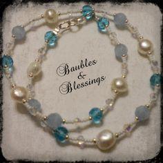 Custom Pearl & Glass Bead Necklace