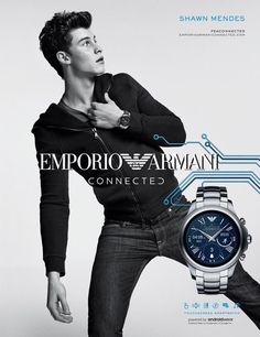 Love the new photo shoot and commercial with Armani ❤❤❤