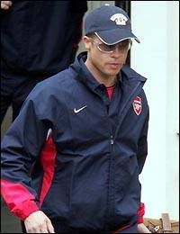 Brad Pitt and Arsenal