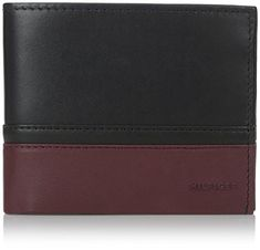 Tommy Hilfiger Mens Nelson Double Billfold NavyBlackOxblood One Size >>> You can find more details by visiting the image link. Note: It's an affiliate link to Amazon #MenWallet