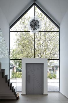 Door Gallery - Urban Front - Contemporary Front Doors UK - April 18 2019 at Bungalow Exterior, Bungalow Renovation, Dream House Exterior, House Front Door, House With Porch, House Entrance, Entrance Hall, Sas Entree, Glass Porch