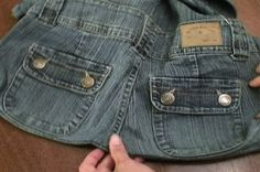 How-to Turn Old Jeans into a Sweet New Purse