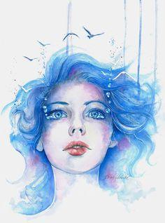 Alis volat propriis - 50 Mind Blowing Watercolor Paintings  <3 <3
