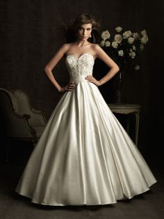 yes, this is a wedding dress, but it's really pretty and I'd love a similar recital dress (not white)